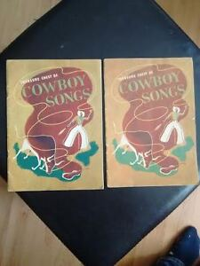 Pair of Vintage Song Books