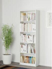 White bookcase (IKEA GERSBY)