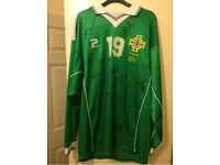 Northern Ireland player issued Shirt