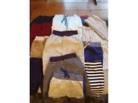 baby bundle of clothes / boy / 0 - 6 months / shoes