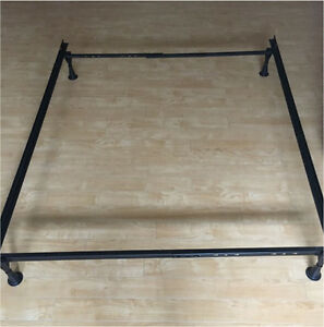 Double Box Spring and Metal Frame