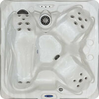 Plug & Play 4 Seater Hot Tub.