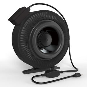 Inline Fans & Carbon Filters for Growing Indoors