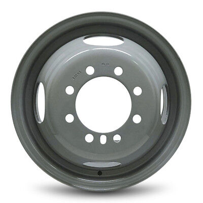 New 16x6 8 Lug 4 Vent Hole (94-99) Dodge Ram 3500 DRW Dually Steel Wheel Rim
