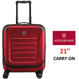 """NEW VICTORINOX SPECTRA 2.0 DUAL ACCESS SPINNER LUGGAGE BAG 21"""""""