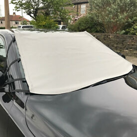 HEAVY DUTY WINDSCREEN FROST ICE SNOW COVER PROTECTOR Fits all cars, vans, 4x4's