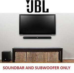 NEW JBL 2.1 HOME CINEMA SYSTEM - 117548914 - BLUETOOTH SOUNDBAR W/ WIRELESS SUBWOOFER