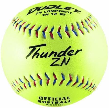 Thunder zn softballs ebay for Tattoo 52 300 softballs