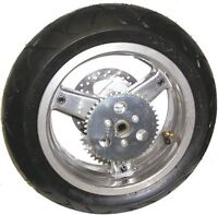Two Pocket Bike wheels and tires