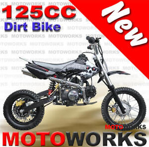 NEW MOTOWORKS 125cc MOTOR TRAIL DIRT PIT 2 WHEELS  BIKE Campbellfield Hume Area Preview