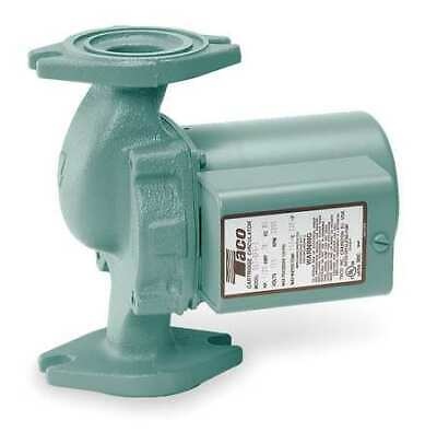 Taco 008-f6 Hydronic Circulating Pump 125 Hp 115v 1 Phase Flange Connection