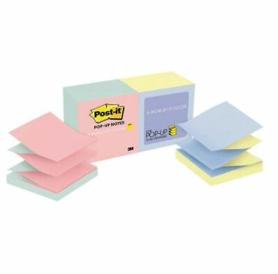 Post-it Pop-up Notes Alternating Marseille Colors 3 X 3 12-pack