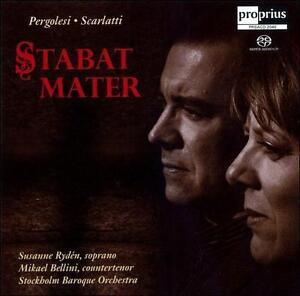 Pergolesi At Mater Scarlatti Super Audio Hybrid Cd Jun 2007 Proprius Audiosource