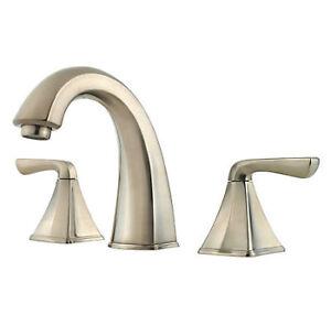 Pfister Selia Brushed Nickel 2 Handle Widespread Bathroom Faucet