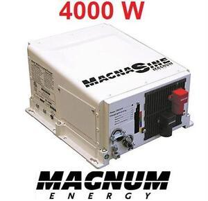 NEW* MAGNUM INVERTER CHARGER 4000W 24VDC - 120/240VAC Pure Sine  84189245