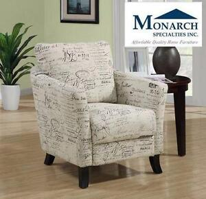 NEW* MONARCH FABRIC ACCENT CHAIR VINTAGE FRENCH FABRIC ACCENT CHAIR furniture home decor living room 90686510