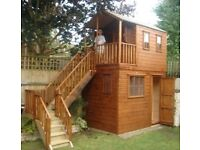GARDEN OFFICES AND PLAY HOUSES FROM £1999 no vat