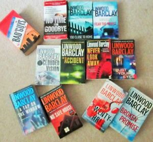 == LINWOOD BARCLAY == Paperback Mysteries