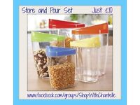 Store and Pour Container Set