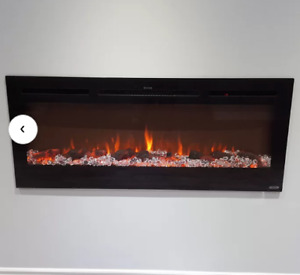 Incredible Wall Mounted Electric Fireplaces Buy New Used Goods Near Download Free Architecture Designs Intelgarnamadebymaigaardcom