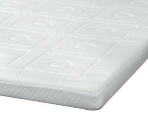 """Twin 3"""" Quilted Memory Foam Mattress Topper CLOSE OUT"""