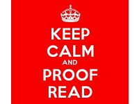 Grammar checking, proof-reading, assignment checking, from £2