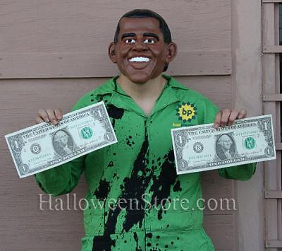 Bad Planning BP Oil Spill Adult Obama Funny Costume