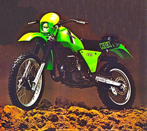 WANTED 1981 Kawasaki KDX 420 parts or whole