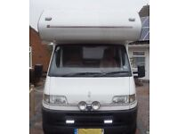FIAT DUCATO SWIFT 900 LIFESTYLE 4 BERTH MOTORHOME. CONTACT PAUL 07770393958