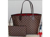 louis vuitton bag and purse set high quality