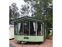 2007 Willerby Aspen static caravan double glazed and central heated for sale near Bromyard,