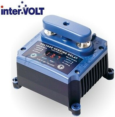 PROGRAMMABLE 150A AMP DUAL BATTERY AMP CHARGER ISOLATOR SYSTEM 12V 12 VOLT VSR