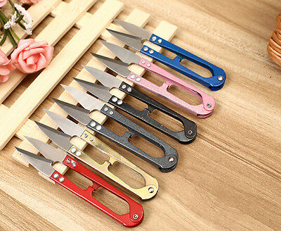 1PCS Leather Craft Tool Scissors Tool Line Wire Scissors High Quality Leather (Leathercraft Scissors)