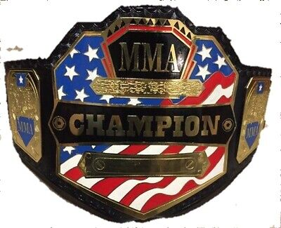 Official MMA Authentic United States Championship Commemorative Title Belt - United States Championship