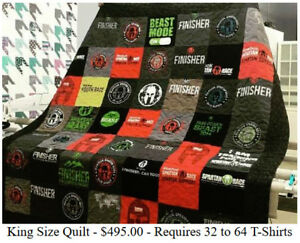 Let Us Turn Your T-shirts Into A Memory Quilt