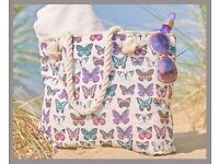Butterfly Beach Bag - Brand new in packaging - ONLY £10