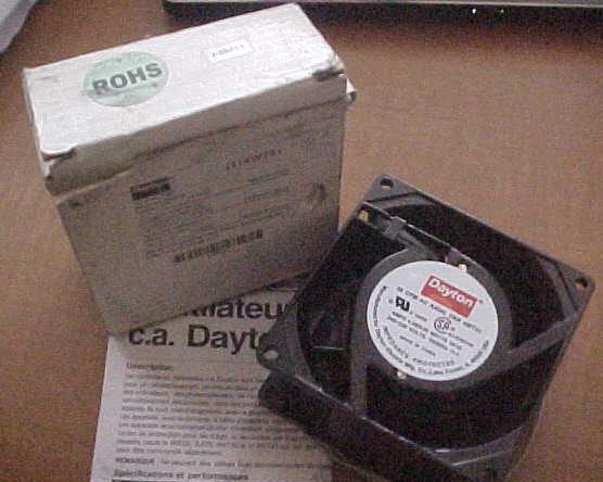 GENUINE Dayton 4WT41 AC Axial Fan 220v CFM 30 ~ NEW IN BOX ~ FREE SHIP