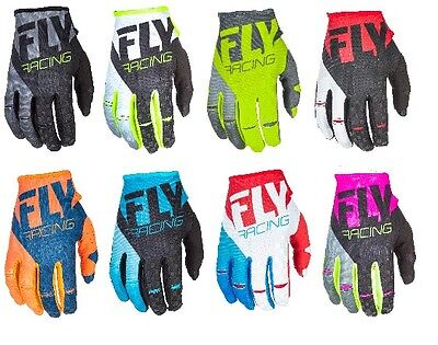 Kinetic Race Gloves - NEW 2018 FLY RACING KINETIC MOTORCYCLE MX GLOVES ALL SIZES ALL COLORS FREE SHIP