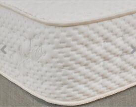 Mattress ,Hestia latex 1000 double mattress , can come with double bed(didn't come with mattress