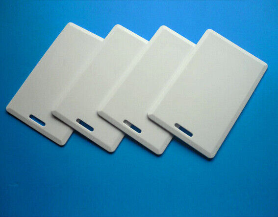10X 125Khz RFID T5577 Writable Thick Proximity Clamshell Card for Access Control