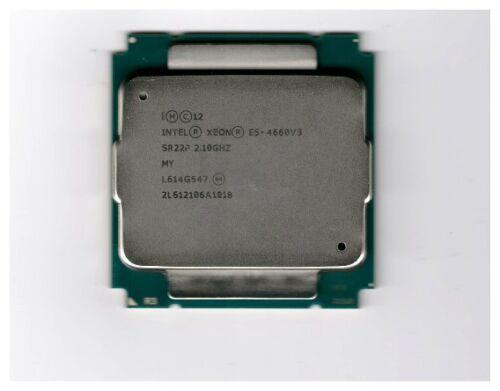 SR22P Intel Xeon Processor E5-4660 v3 35M Cache, 2.10 GHz
