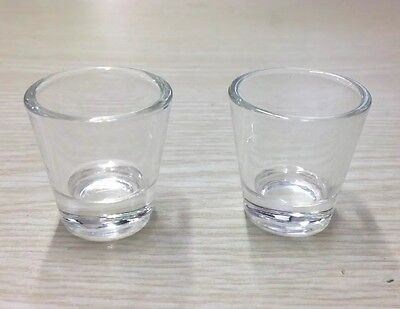 "Glass Communion Cups - - - 1 3/8"" inches (Pkg-40)"