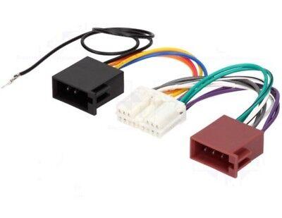 Mitsubishi Power Headunit Wiring Harness Loom Converter Adapter Connector Lead