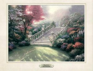Thomas Kinkade Stairway to Paradise Picture  FREE SHIP Kincade Kincaid Kinkaid