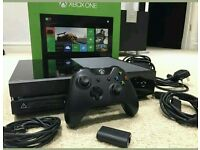 Xbox one 500gb power brick hdmi cable and controller