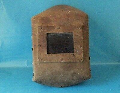 Vintage Russian Protective Welding Mask Helmet 1950-1960 Year