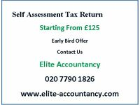 Tax Return- Starting From £15 per month