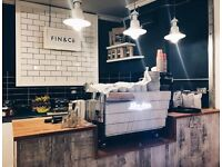 Experienced cafe manager required for the day to day running of a new cafe in central Newquay.