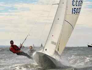 International Fireball sailing dinghy