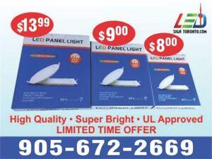 Led panel light/slim panel/down light- best prices ever